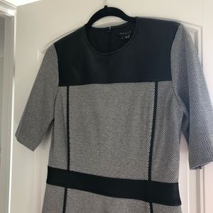 Theory leather dress